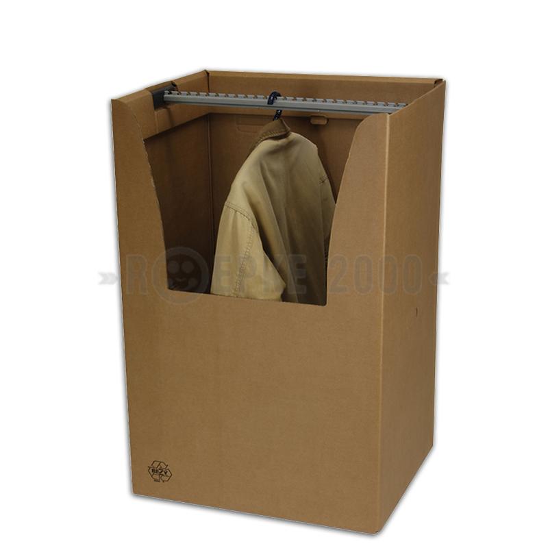 kleiderbox mit kleiderstange f r hemden und hosen. Black Bedroom Furniture Sets. Home Design Ideas